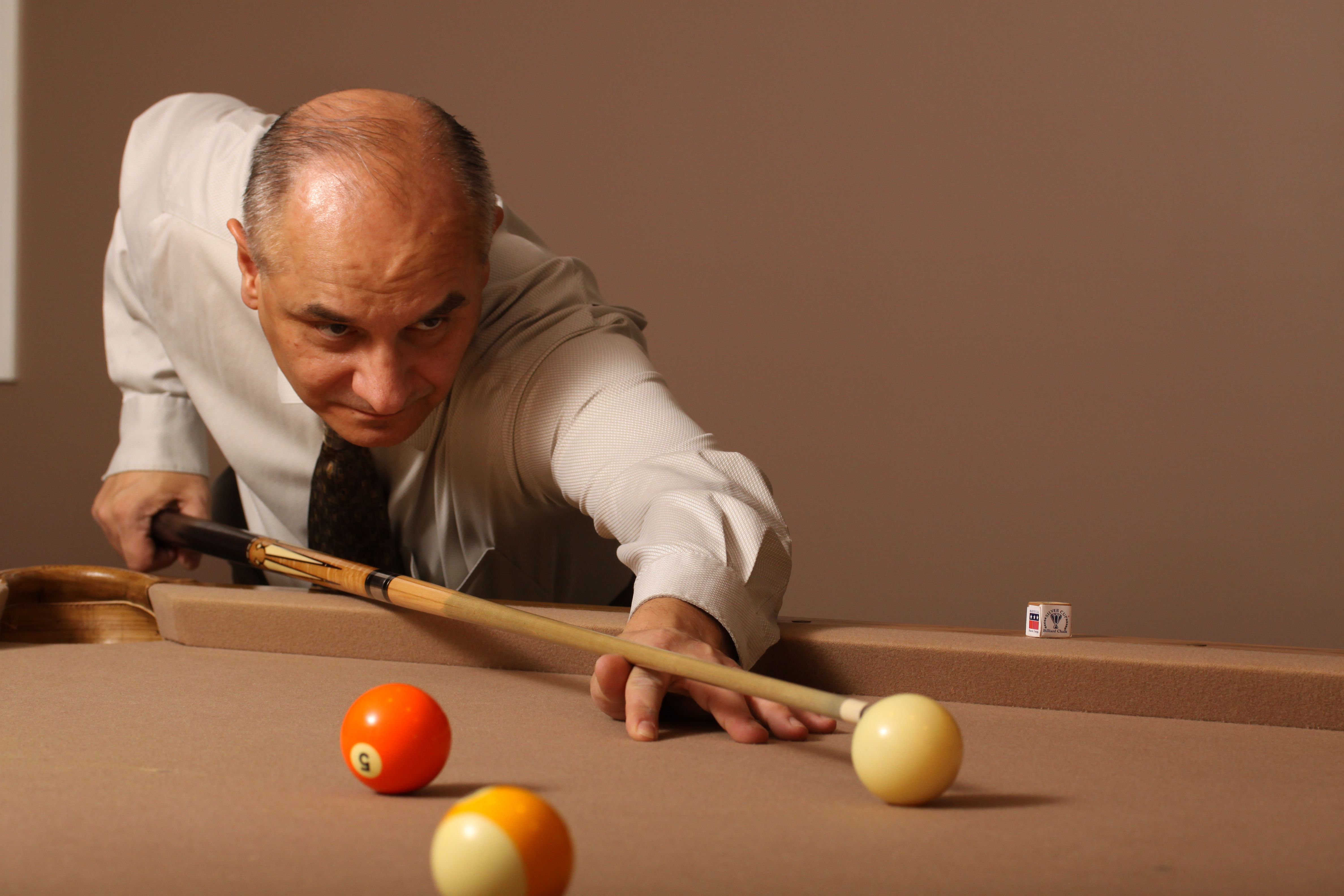 Perfect step by step set up to the Cue ball | PaulPotier com